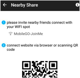 Near by Share MobileGo
