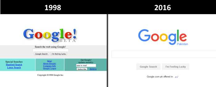 Google Now and Then