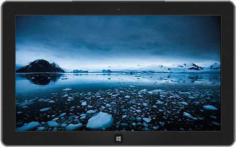 antarctica windows theme