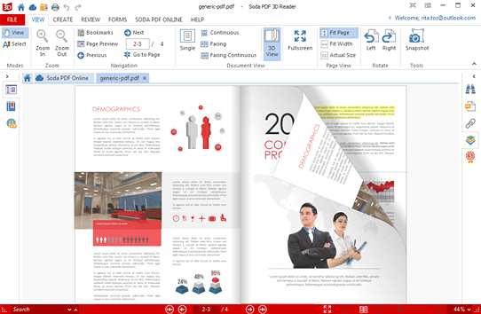 Soda PDF Reader