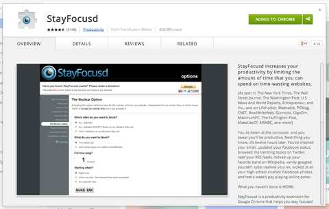 Stay Focused Online Tool