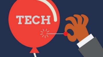 Is a tech bubble a possibility?