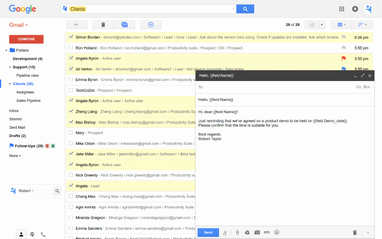 CRM for Gmail