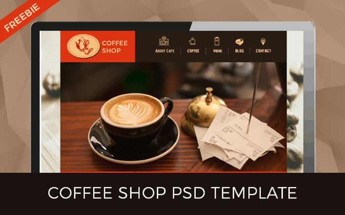 Coffe Shop Template