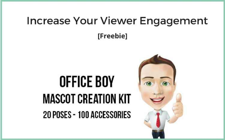 Office Boy Mascot Creation Kit