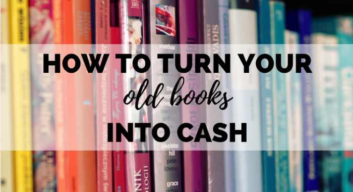 Turn Old Books to Cash
