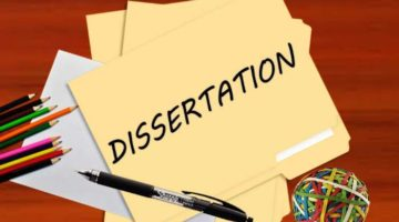 Why You Should Try to Draft a Dissertation in a Year's time