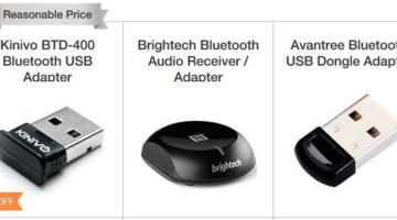 Top 5 Best Bluetooth Adapters