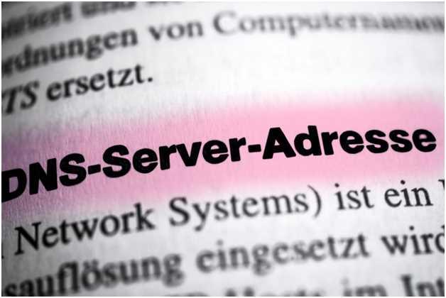DNS Server Addresse Error